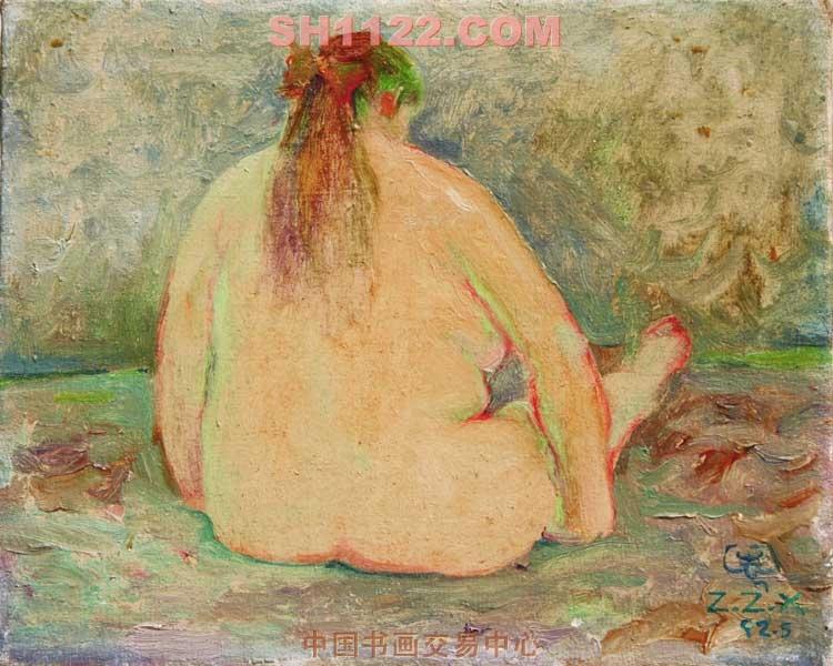 油画 - 胖女人